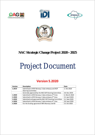 NAC Strategic Change Project 2020-2025 Project Document