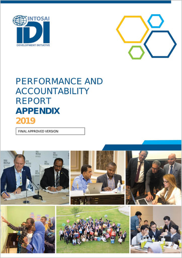 IDI Performance and Accountability Report 2019 Appendix Cover
