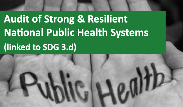 Audit of Strong and Resilient National Public Health Systems (linked to SDG 3.d)