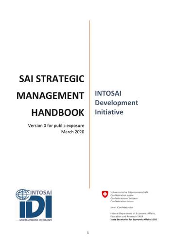 IDI Strategic Management Handbook Version 0
