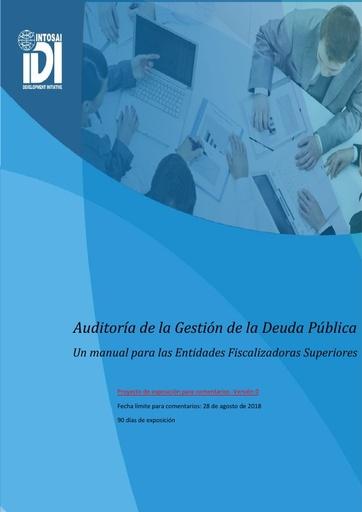 Handbook on Audit of Public Debt Management - Version 0 (SPANISH)