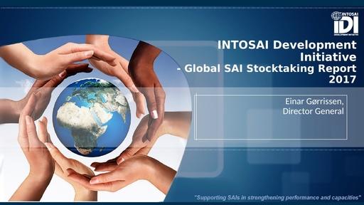 GLOBAL SAI STOCKTAKING REPORT Presentation