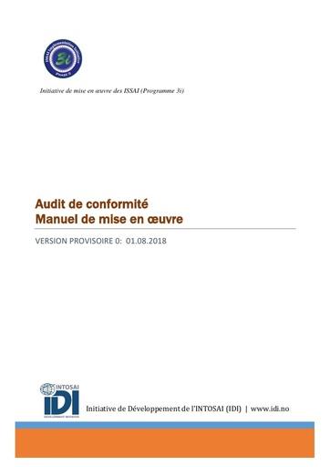 Compliance Audit ISSAI Implementation Handbook-Version 0 (French)