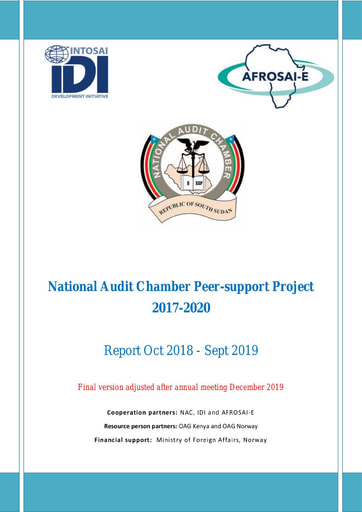 2018-19 South Sudan National Audit Chamber Peer Project Report