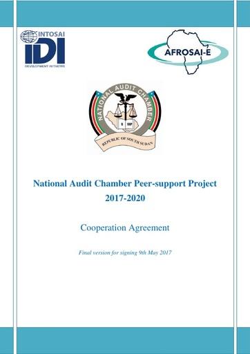 Cooperation Agreement NAC IDI AFROSAI E