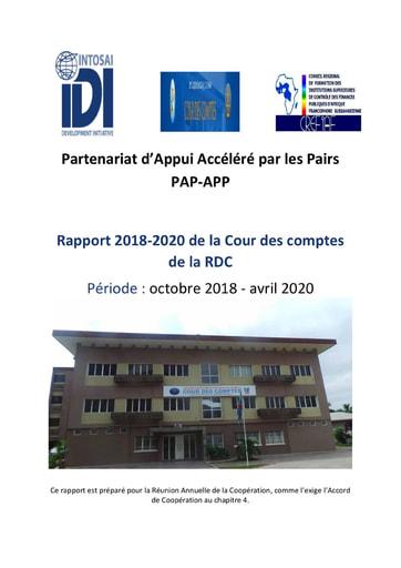 SAI DRC PAP-APP Project Rapport (October 2018 - April 2020)