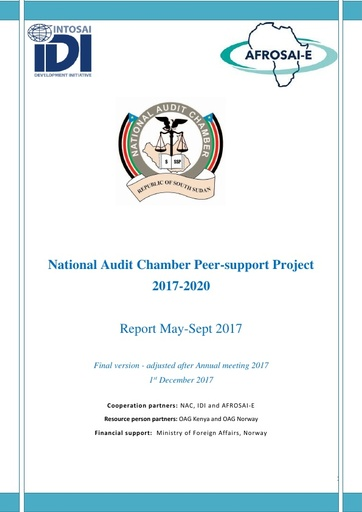 2017 Report NAC Peer support project   adjusted after annual meeting