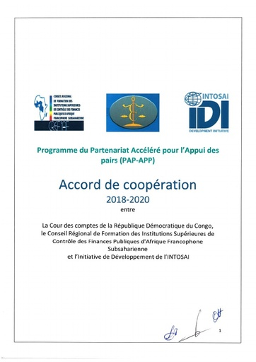 Signed Cooperation Agreement RDC