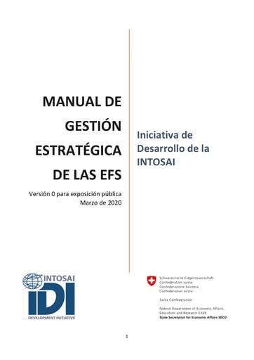 Manual de gestión estrategica Versión 0