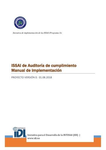 Compliance Audit ISSAI Implementation Handbook-Version 0 (Spanish)