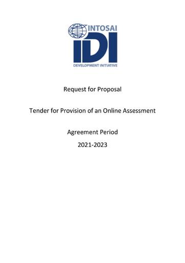 TOR PESA Online Assessment Tender RFP 2022