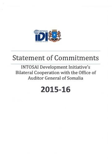 Statement of Commitments Somalia Bilateral 2015