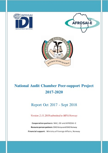 2018 Report NAC Peer support project
