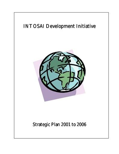 Strategic Plan 2001 to 2006